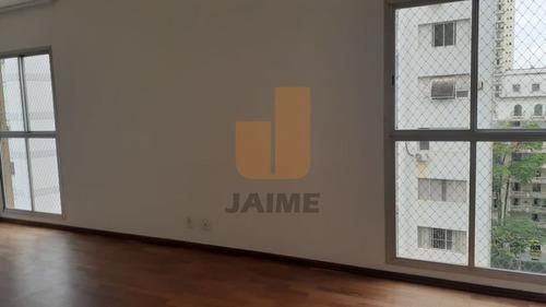 Apartamento Para Locação No Bairro Santa Cecília Em São Paulo - Cod: Ja18059 - Ja18059