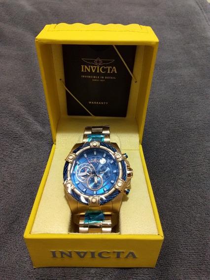 Relógio Invicta Bolt Model No. 25516 Original B. Ouro 18k