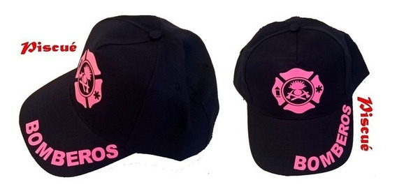 Gorra Estampada Para Bomberos - Mujer - Modelo 6 - Piscué