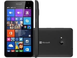 Smartphone Celular Nokia Microsoft Lumia 535 Preto Dual Chip