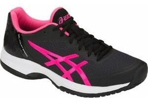 Tenis Feminino Asics- Gel Court Speed- Preto E Pink Original+nf