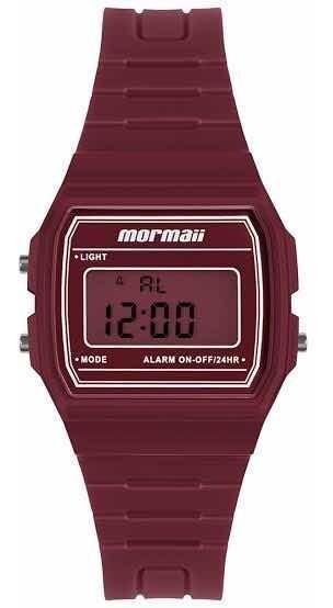 Relógio Mormaii Unissex Maui Vermelho Mojh02bf/8r