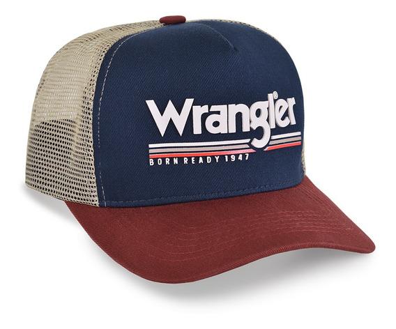 Boné Wrangler Bornready Original Country Lançamento