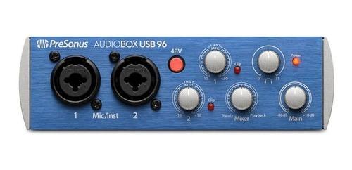 Interface Presonus Audiobox Usb 96 Profesional Audio-box