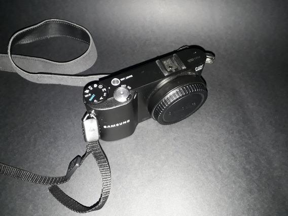 Câmera Samsung Nx1000 (corpo + Flash + Carregador)