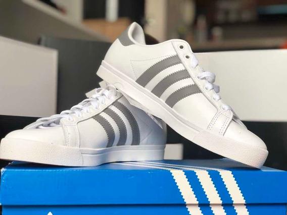 Tenis adidas Originals Coast Star Blanco Con Gris Zapatos