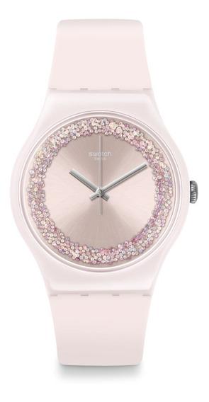 Reloj Swatch Suop110 Pinksparkles