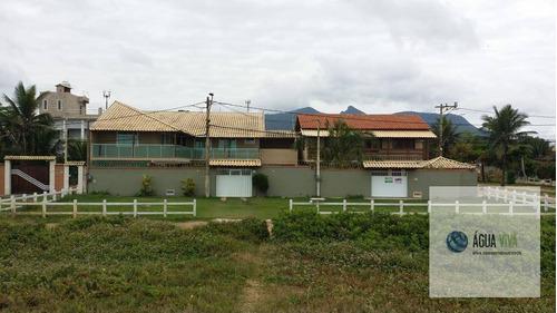 Casa Vista Para Praia -280 M² A Vista  R$ 380.000 - Barra De São João - Ca0035