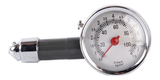 Manometro Medidor De Presion Neumatico Analogo 100psi