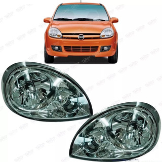 Par Faros Chevy C2 2004 2005 2006 2007 2008 Pop Swing Monza