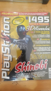 Revista Playstion Shinobi Original