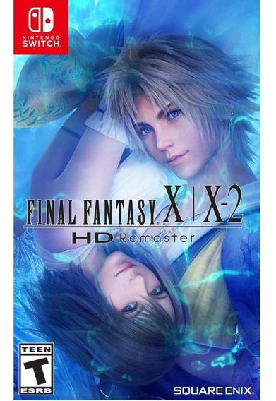 Final Fantasy X x-2 Hd Remaster Switch Mídia Física Novo
