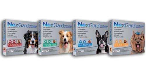 Nexgard Para Perros 2 A 50 Kgs