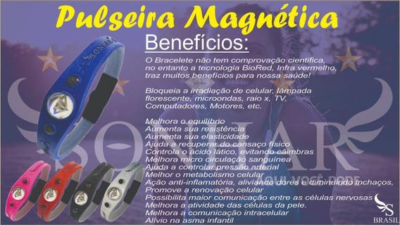 Pulseira Terapeutica Magnetica Fir Infra Vermelho Longo
