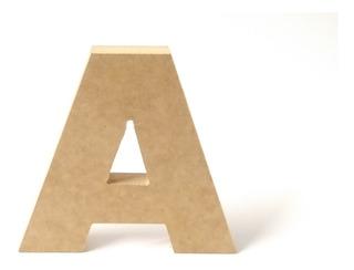 Letras Y Números Mdf Gruesas 10cm X 15mm A Escoger