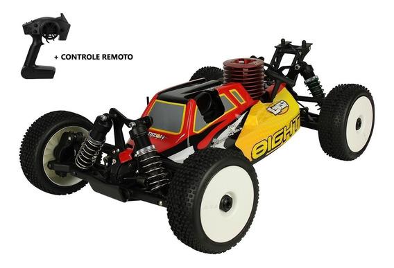 Carro Automodelo Combustão Losi Buggy Rtr 1/8 Motor Nitro