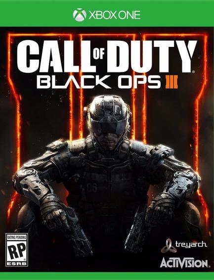 Jogo Novo Lacrado Call Of Duty Black Ops 3 Para Xbox One