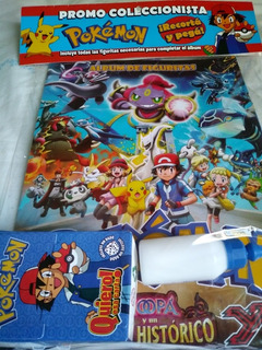 Figuritas Pokemon Xy Mas Album