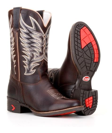 Bota Country Masculina Texana Bico Redondo Capelli Boots