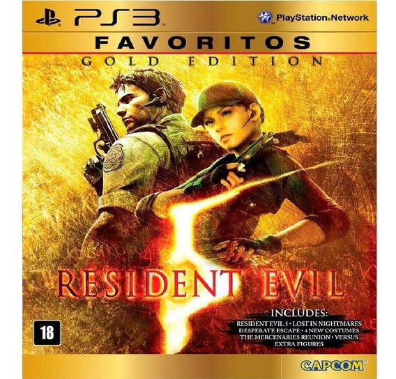 Resident Evil 5 Gold Edition Ps3 Psn Jogo Digital Promoção