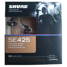 Fone De Ouvido Com Microfone Shure Se425 Cl iPhone G 2 Anos