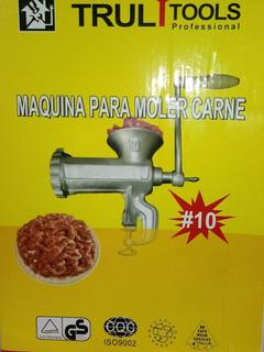 Picadora Moledora De Carne Manual Gourmet Cocina
