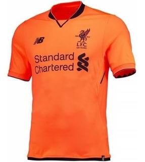 Camisa Newbalance Liverpool Iii 17/18 Oficial Promoção