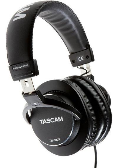 Tascam Th300x Th-300x Fone De Ouvido Novo Importado