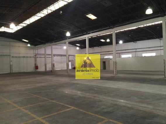 Galpão Para Alugar, 2167 M² Por R$ 55.000,00/mês - Vila Leopoldina - São Paulo/sp - Ga0123