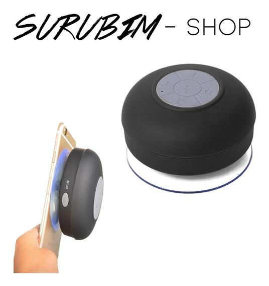 Mini Caixa De Som Portátil Bluetooth Banheiro - Opção De Cor