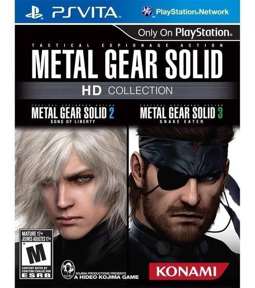 Jogo Metal Gear Solid Hd Collection - Ps Vita - Original - Mídia Física