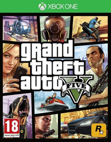 Gta V Xbox One( Mídia Digital)