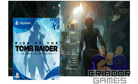 Rise Of Tomb Raider Celebration 20anos Digital Psn Vitalício