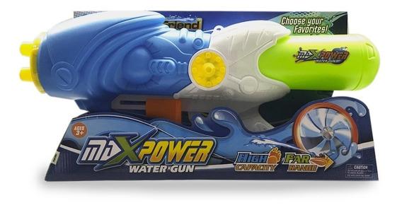 Pistola De Agua Grande Max Power Big Friend 60 Cm Ck Full