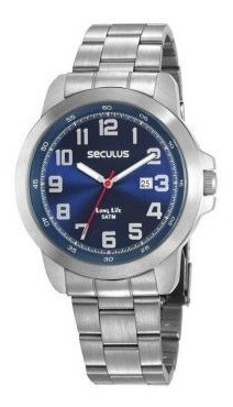Relógio Masculino Seculus Esportivo 28939g0svna1 - Prata