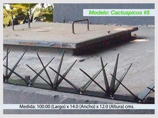 Picos De Seguridad Perimetral Para Bardas Modelo #5