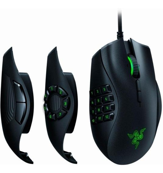 Mouse Razer Naga Trinity Chroma 5g 16.000 Dpis + Nfe