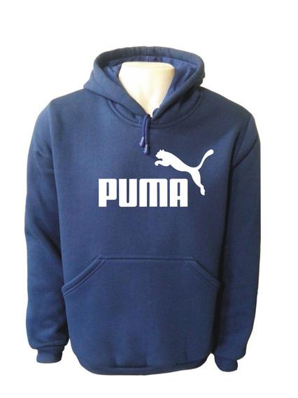 Blusa Moletom Masculino-canguru-alta Qualidade-puma-promoção