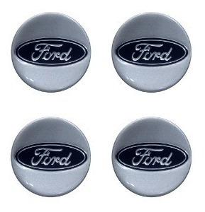Imagem 1 de 1 de Jogo Com 4 Peças De Emblema Ford