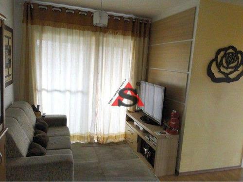 Imagem 1 de 15 de Apartamento Com 3 Dormitórios À Venda, 63 M² Por R$ 590.000,00 - Vila Vermelha - São Paulo/sp - Ap44015