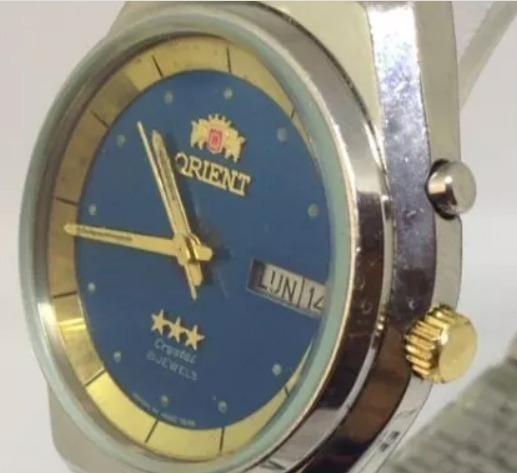 Relógio De Pulso Orient Masculino Automático T10479 Webclock