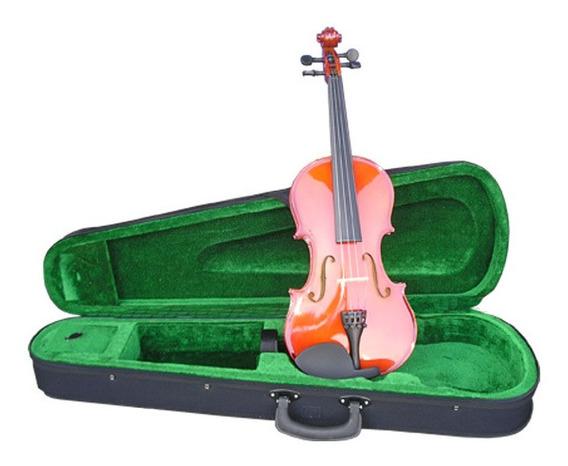 Violin Racker Tamaño 4/4 Sin Arco - Con Detalles - Outlet