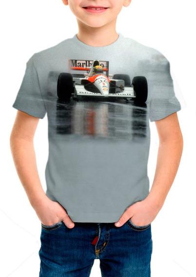 Camiseta Infantil Ayrton Senna - M01