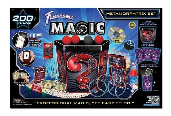 Juego Metamorphtrix Set Magia +200 Trucos Juguete Recreativo
