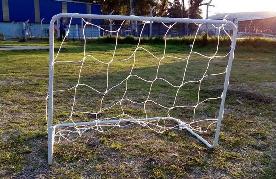 Arcos De Futbol De Acero Desarmables Con Red 50cm X 80cm