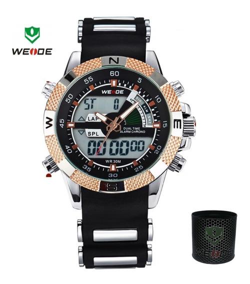 Relógio Masculino Original Esportivo A Prova De Agua Grande