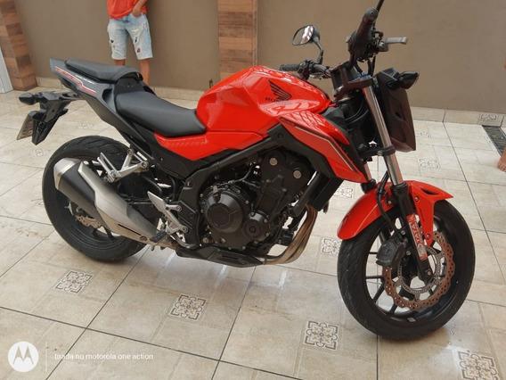Cb 500 F - Vermelha