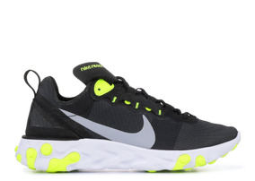 Zapatos Nike Element React 55 Black And Volt