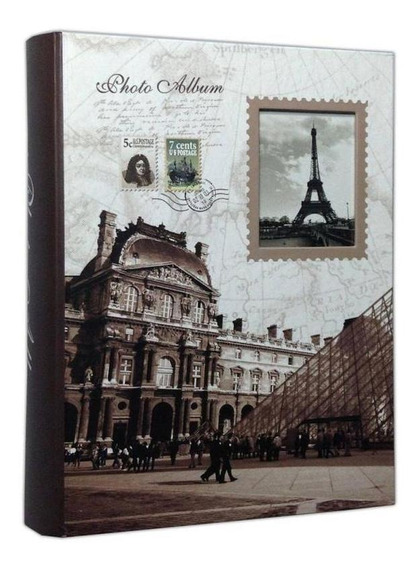 Álbum 200 Fotos 10x15 C/visor Paris Torre Eiffel Wb-46200-4