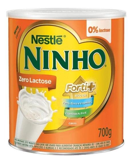 Fórmula infantil em pó Nestlé Ninho Forti+ Zero Lactose em lata de 700g